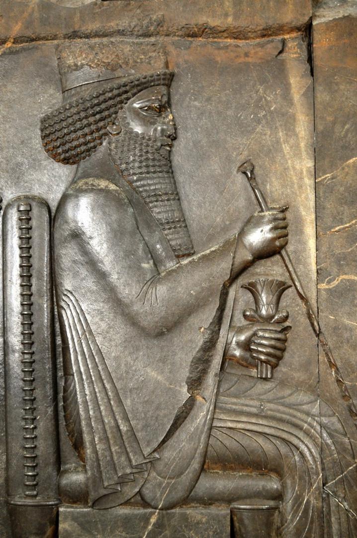 Persian Empire Darius Antique Relief ...