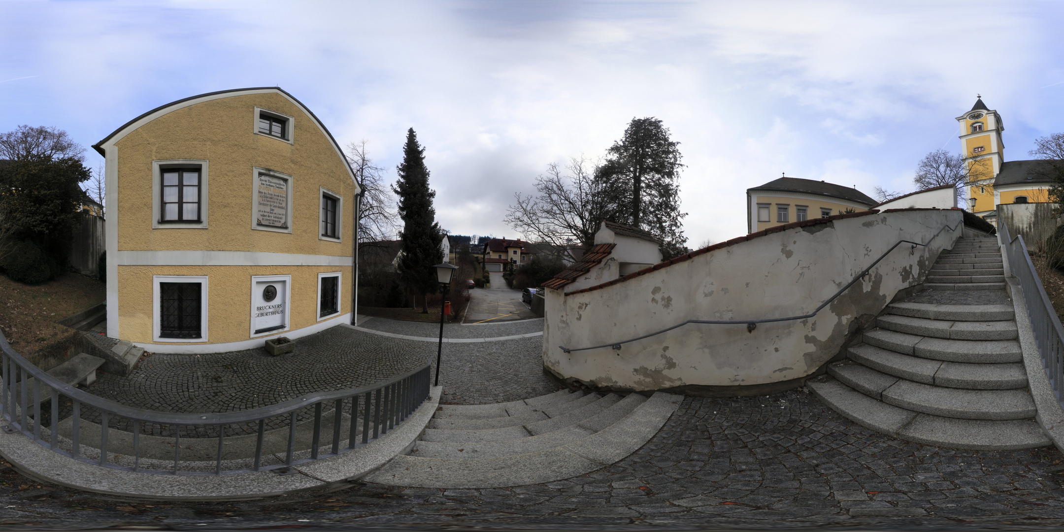 Anton Bruckners Geburtshaus und Pfarrkirche Ansfelden