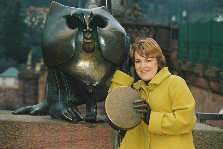 Antonia und der Affe....