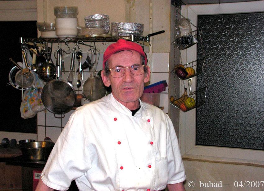 Antonio - der Koch