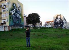 Antonio fotografa arte urbana