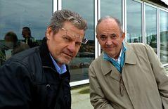 Antonio Morri e Gigi Tarasca (fotoraduno Pesaro)