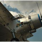 Antonov AN 2 bei Tageslicht
