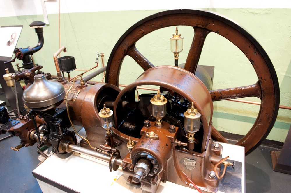Antriebsmaschine, Baujahr 1904