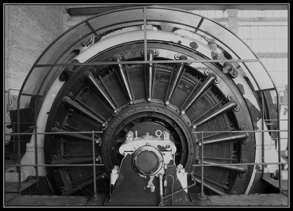 Antriebsrad einer Fördermaschine