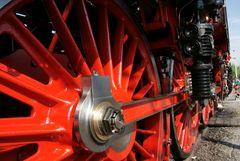 Antriebsräder der Dampflok