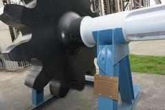 Antriebsritzel v. Schiffshebewerk Niederfinow