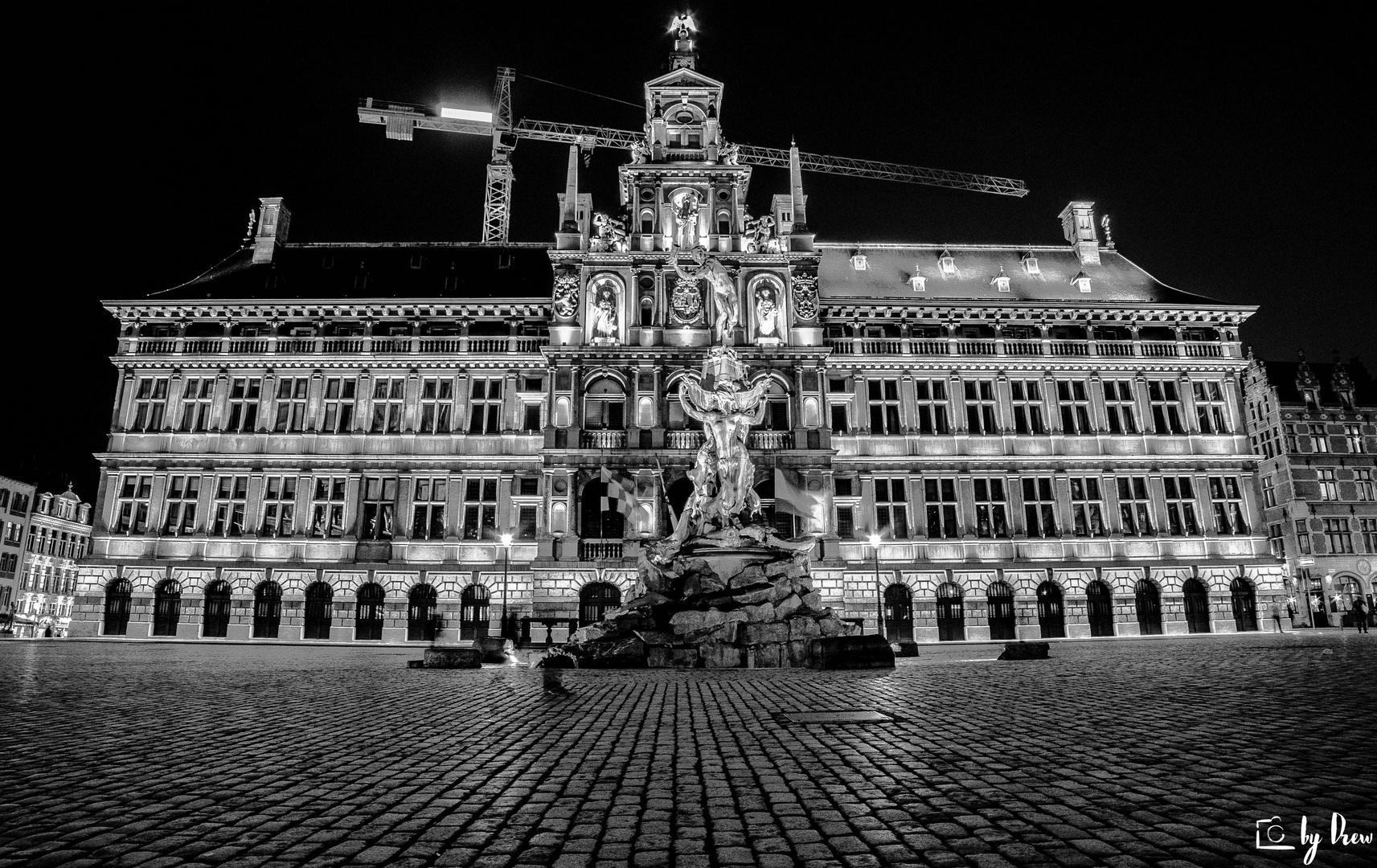 Antwerp at night