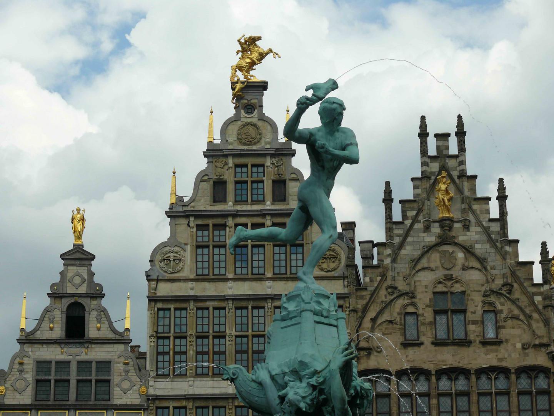 Antwerp City Hal Square