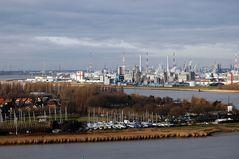 Antwerpens Industriehafen
