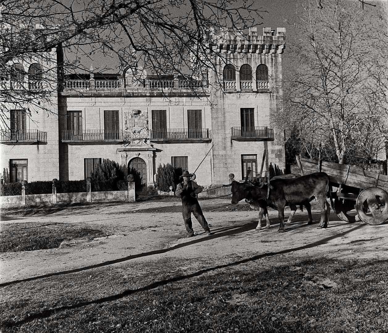 Año 1.962-EL PAZO DEL GENERAL TELLA.(Lugo)