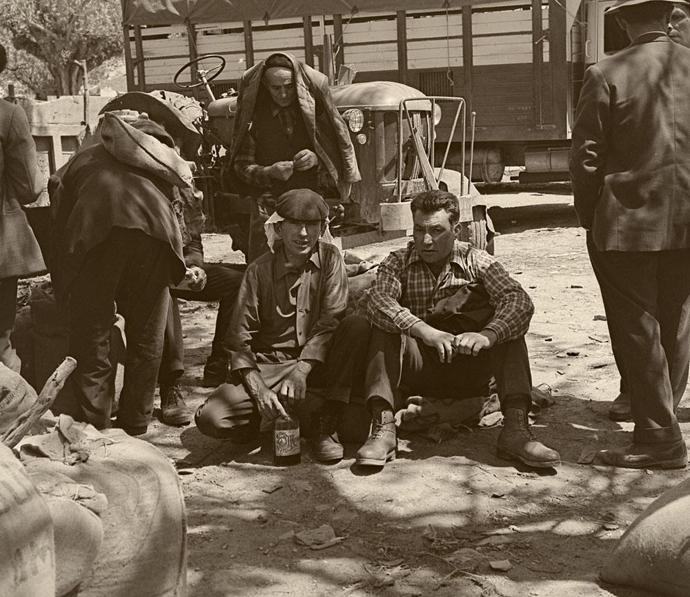 Año-1.964- En la feria de Monterroso.