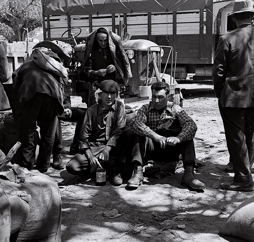 Año 1.964-En la feria de Monterroso.