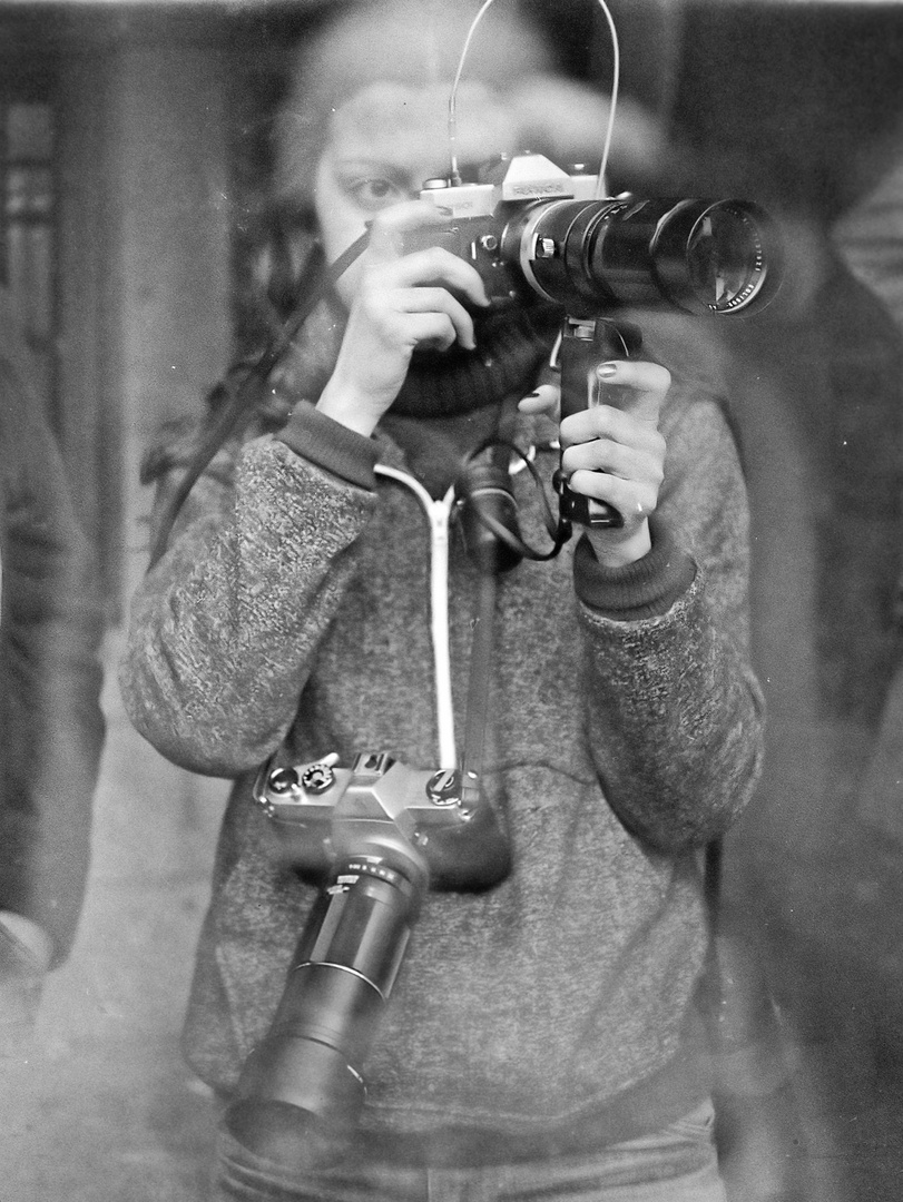 Año 1.968- ANA FOTOGRAFIANDO