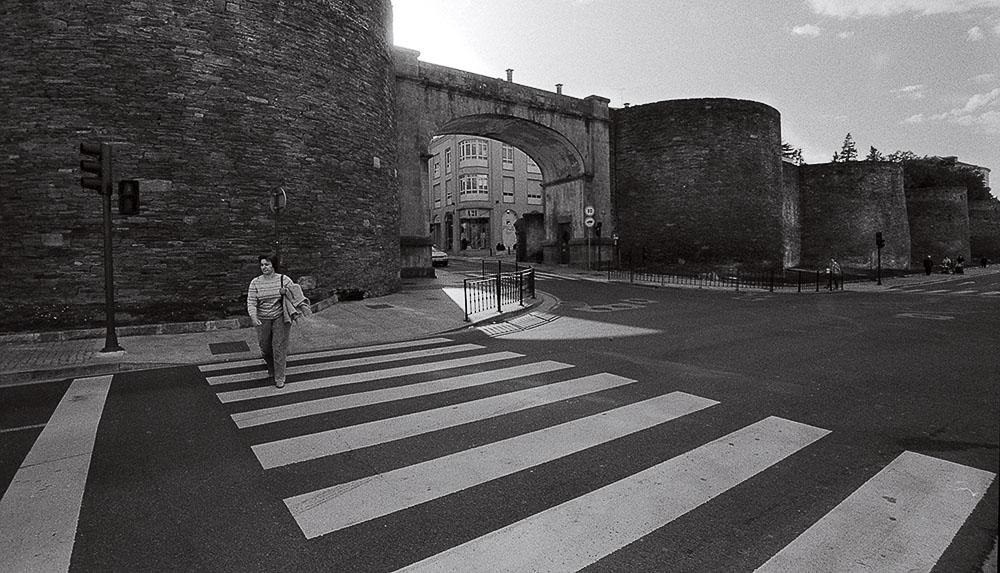 Año 2.004-La muralla romana lucense