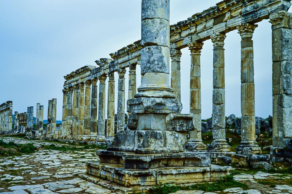 Apameia, Syrien.         ..120_3914