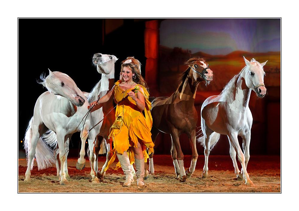 Apassionata - Mädchen mit Pferden II