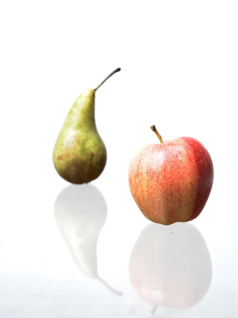 Apfel oder Birne.....