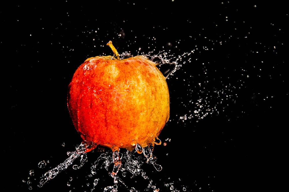 Apfelwäsche