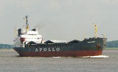 Apollo Falcon.  Schüttgutfrachter ( Bulker)