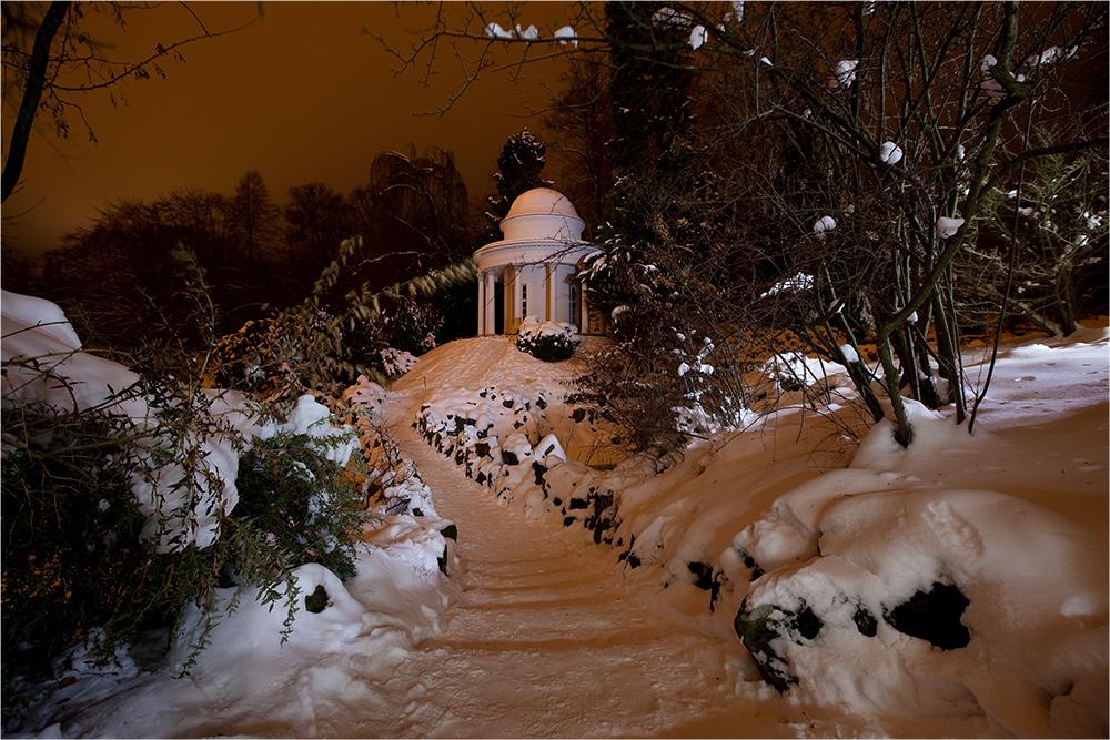 Apollo im Schnee