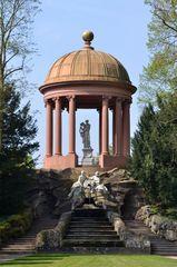 Apollo-Tempel im Schlossgarten Schwetzingen