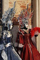 apparenze blu e rossa - Carnevale di Venezia 2012