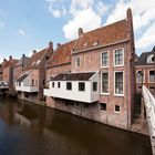 Appingedam - The hanging kitchens over the Damsterdiep - 2