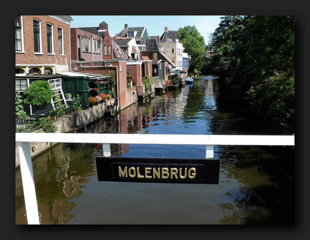 Appingedam - view from the bridge