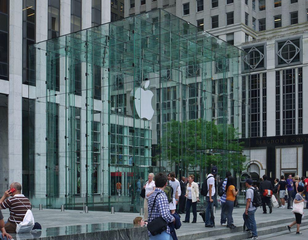 Apple im Tabernakel