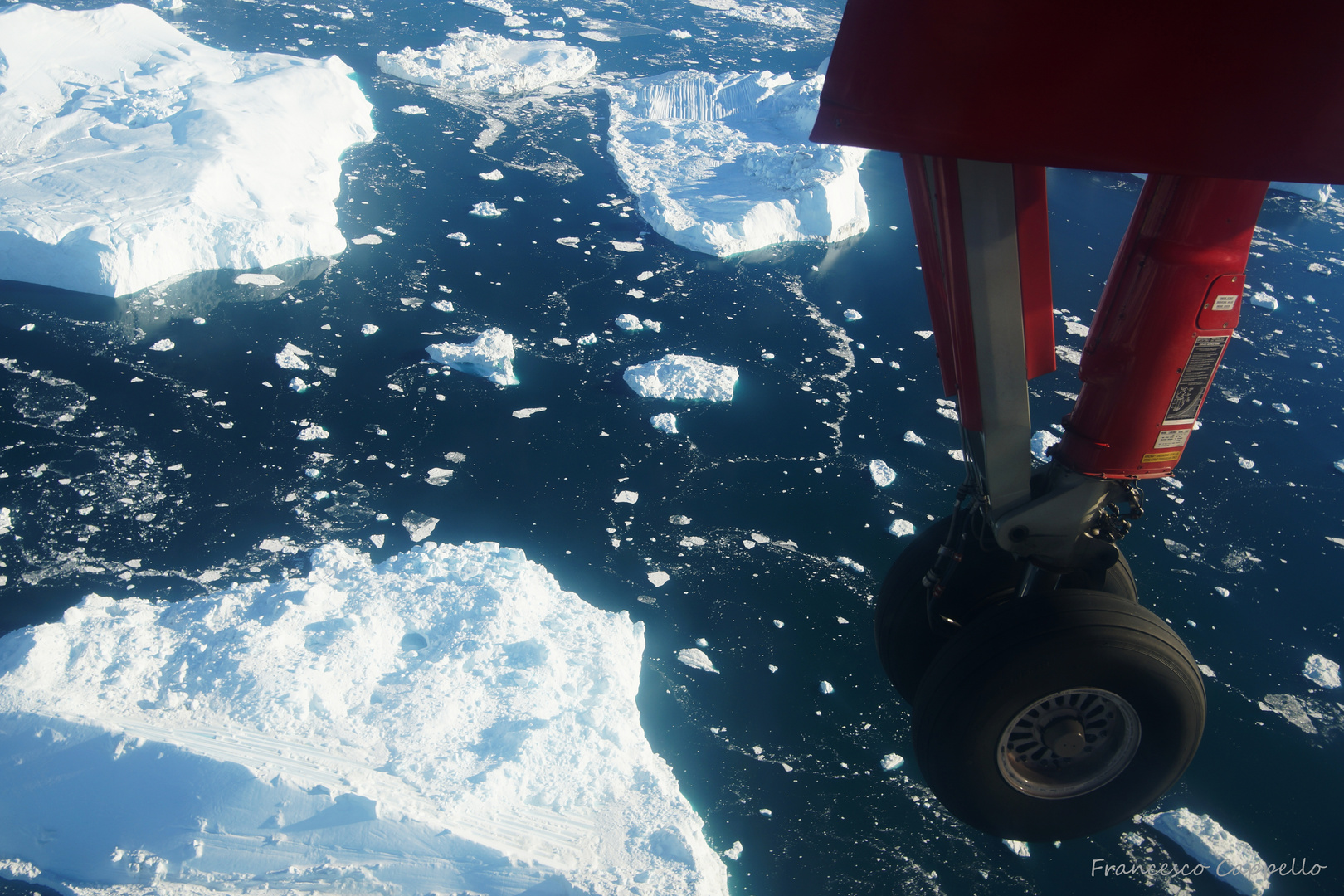 approach to Ilulissat