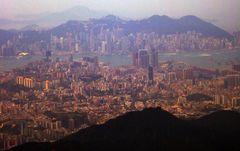 Approaching Hongkong