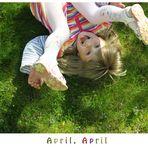 April, April und Löwenzahn
