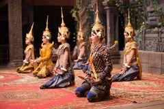 Apsara Tanz, Kambodscha