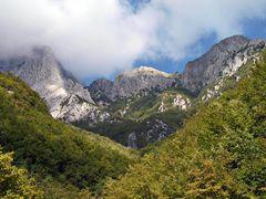 Apuanische Alpen - Grotta del Vento