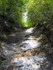 Apuanische Alpen - (Wasser?-)Fall