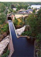 Aquädukt bei Haverud, Dalslandkanal (Schweden)