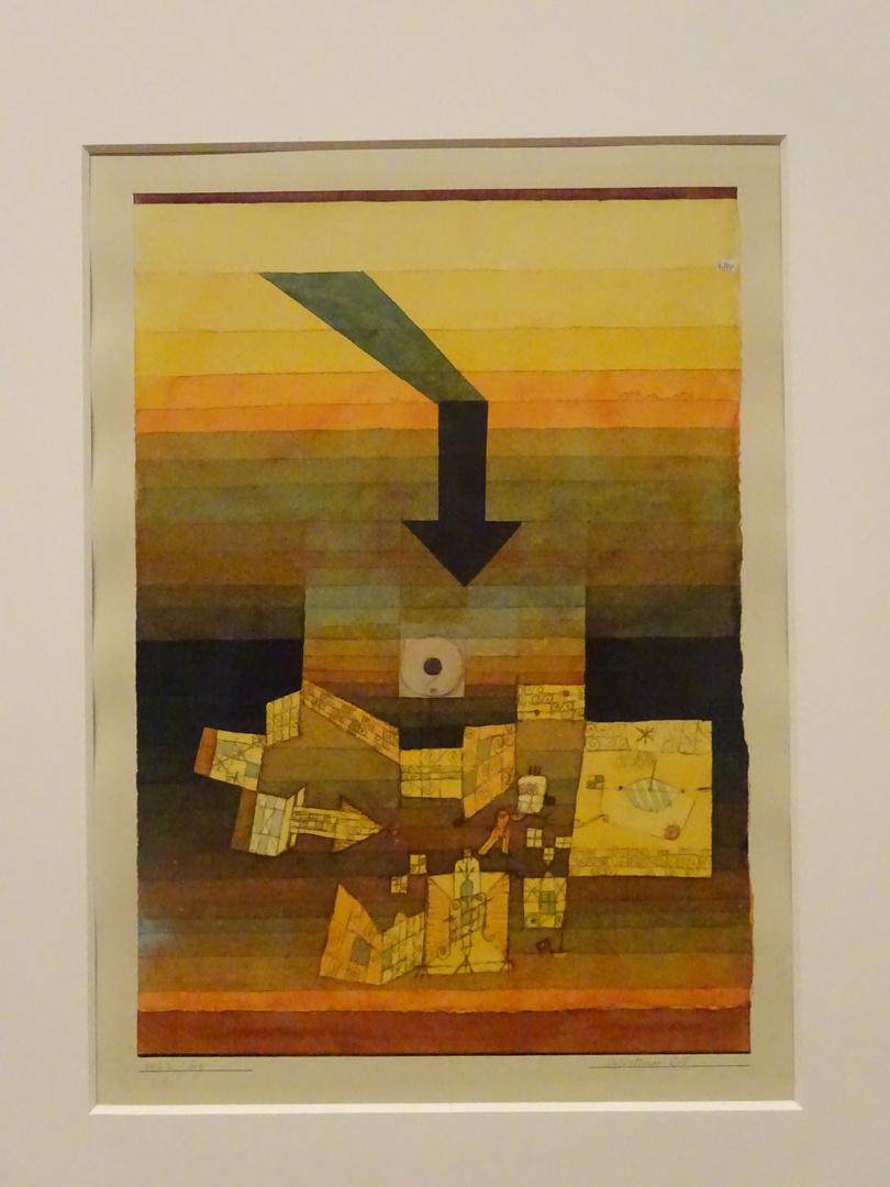 Aquarell von Paul Klee (Paul Klee im Krieg)