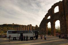 Aqueduc d'Aspendos, Turquie