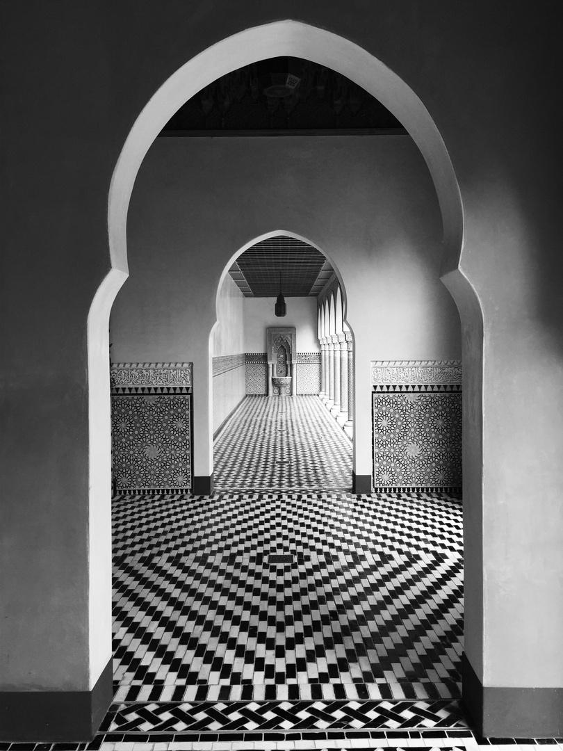 Arabic architecture.