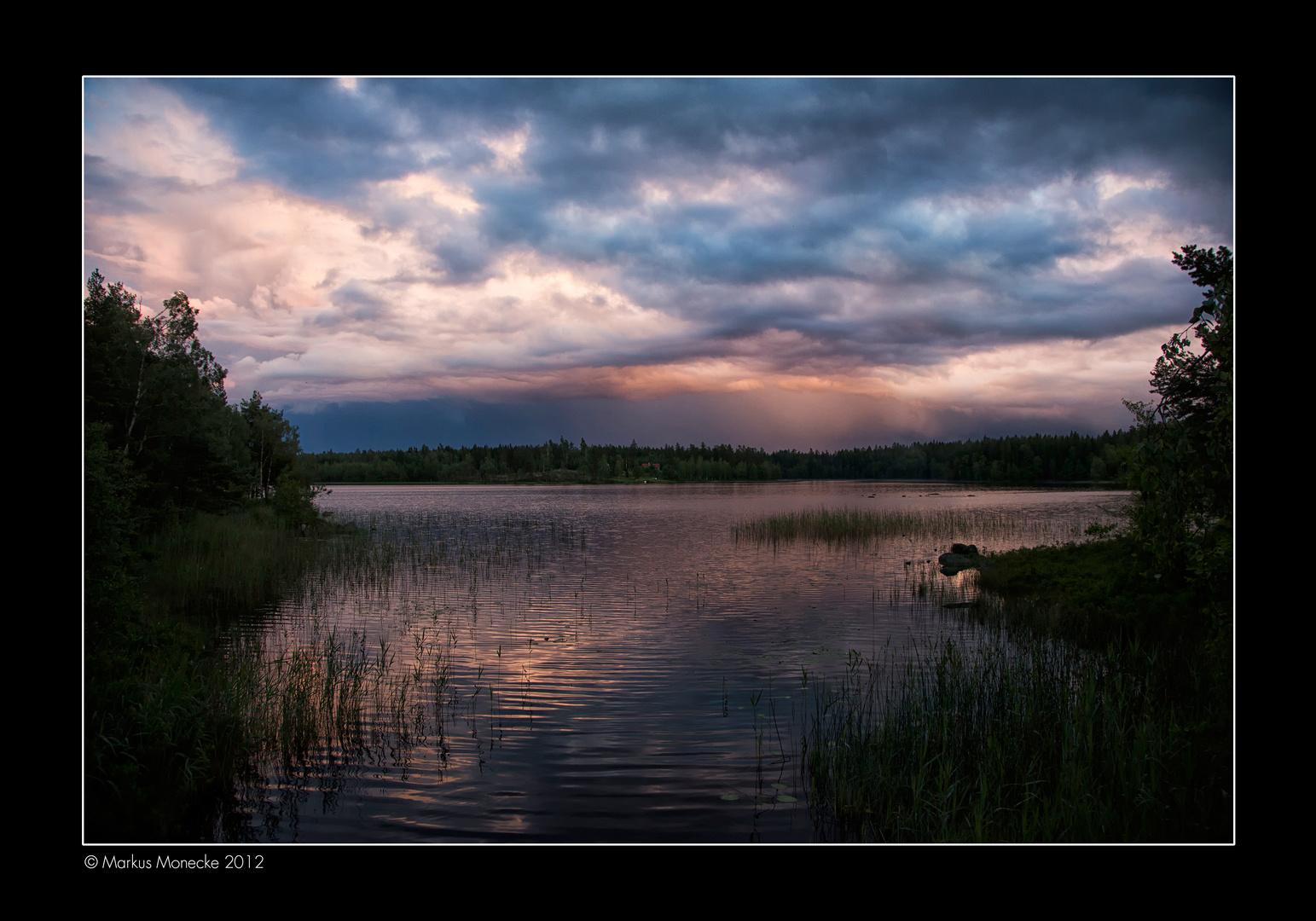 Arasjön, Småland, Schweden
