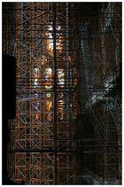 Arbeiten in der Sagrada Familia