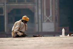 Arbeiter am Itimad-ud Daulah