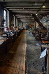Arbeitsplätze der Werkzeugmacher