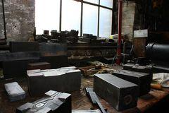 Arbeitsplatz eines Werkzeugmachers