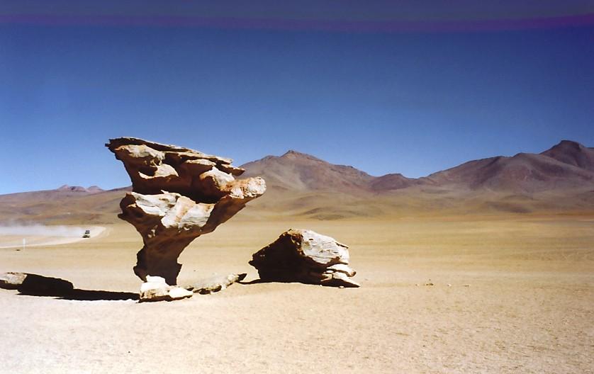 Arbol de piedra (Bolivien)