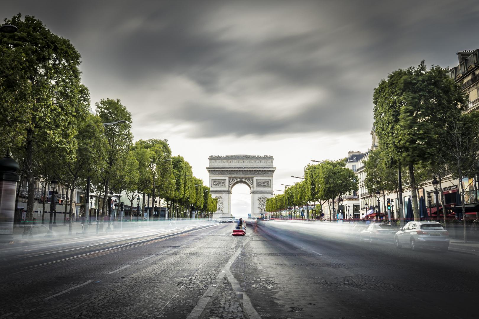 Arc de triomphe - Paris - France (2019)