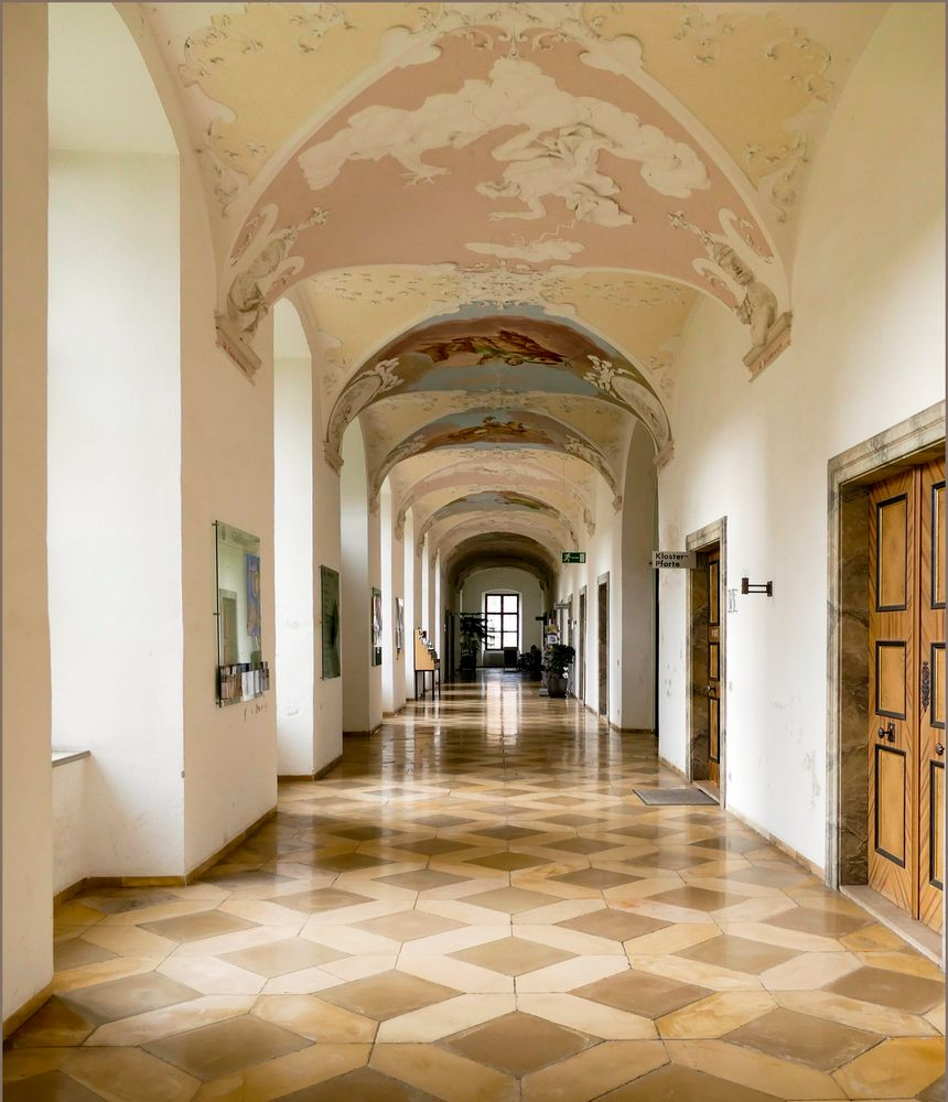 Arcadas    Kloster Ottobeuren