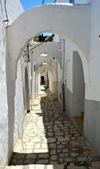Arcades de la ville de Zaghouan.