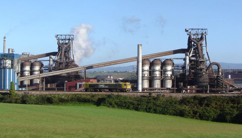 Arcelor-Mittal Blast furnaces, Gijón - Asturias- northern Spain
